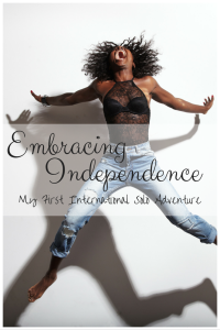 Embracing Independence Pin