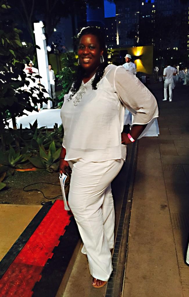 BarrisTourista- Diner en Blanc Los Angeles 2015 Tyra