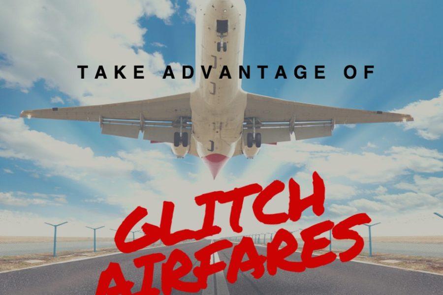 glitch and error fares