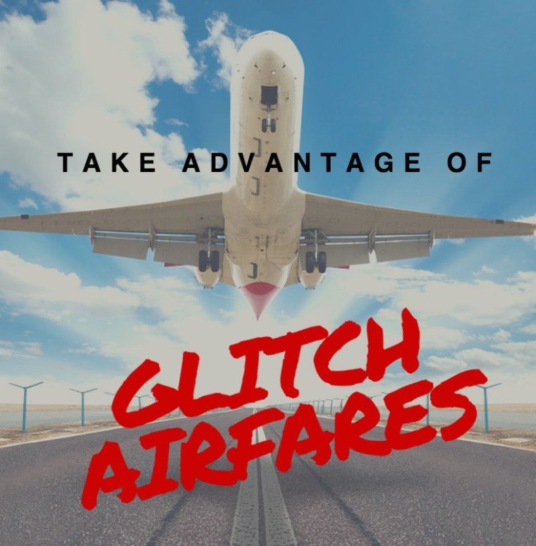 glitch and error fares