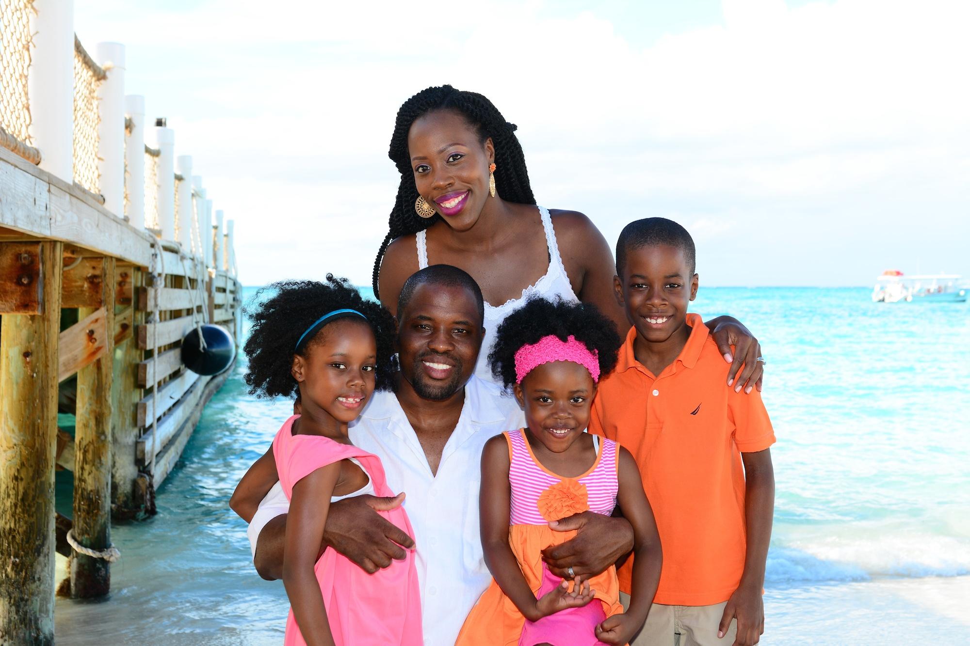 Christine St.Vil - family - Turks & Caicos