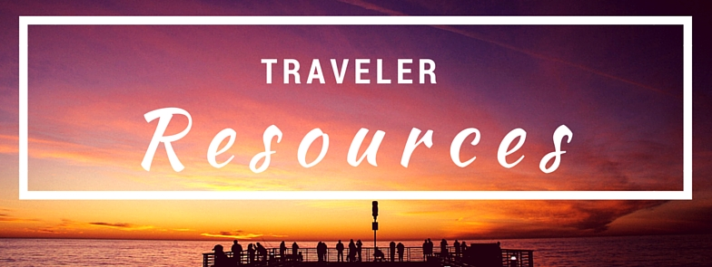 Traveler Resources Banner