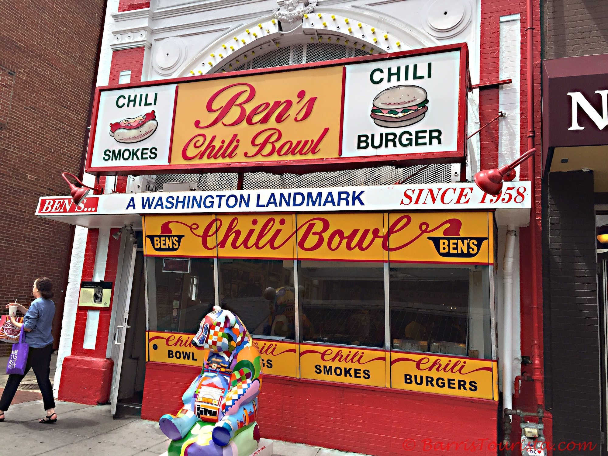 BarrisTourista-Ben's Chili Bowl 3