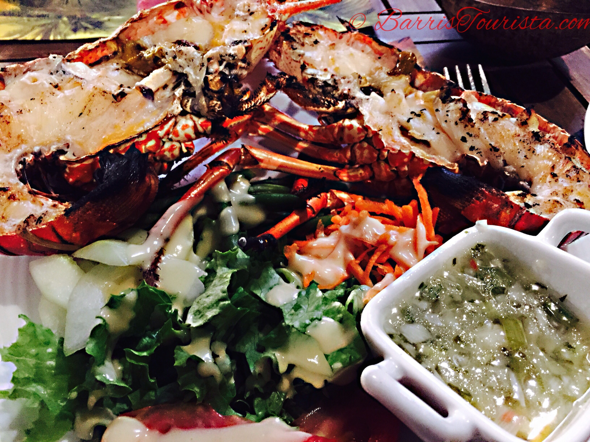 BarrisTourista-Martinique Grilled Lobster