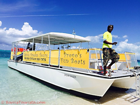 BarrisTourista-Caicos Dream Tours Small planning a trip to turks and caicos