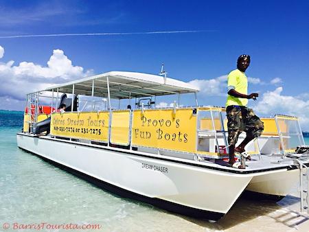 BarrisTourista-Caicos Dream Tours Small planning a trip to turks and caicos