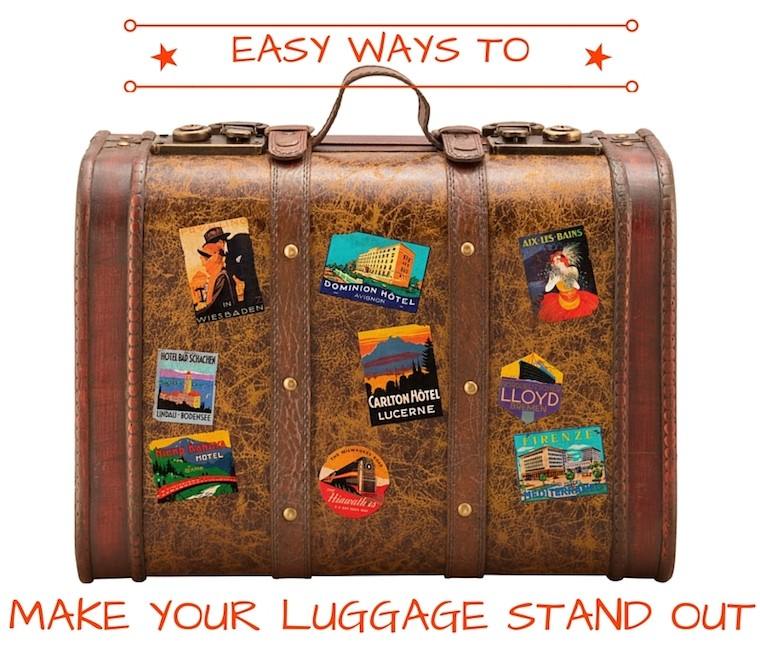 ways to spot your luggage