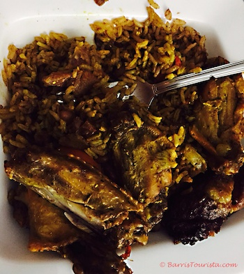 BarrisTourista Taste of TCI Food Tour Curry Chicken food tours Turks and Caicos