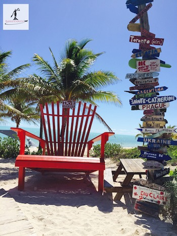 BarrisTourista-Turks and Caicos Chair and Beach and Travel Signs food tour turks and caicos