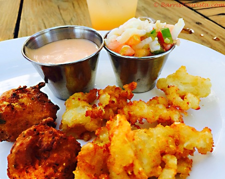 Barristourista-Taste of TCI Food Tours Turks and Caicos Conch 3 Ways