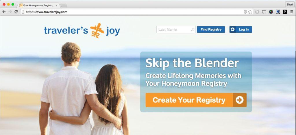 Traveler's Joy Site