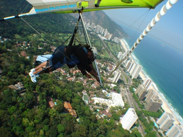 BarrisTourista-Hang Gliding in brazil Over Rio