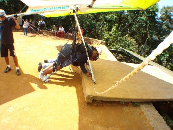 BarrisTourista-Hang Gliding Platform