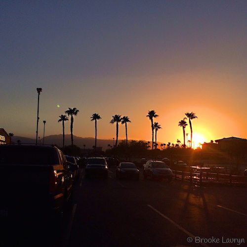 BarrisTourista-Brooke Vegas Sunset