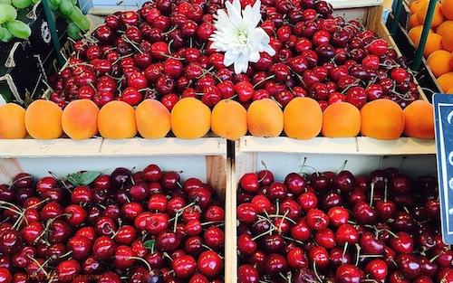BarrisTourista-Paris Market Walk Cherries