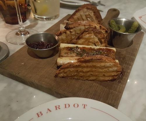Bardot Brasserie Las Vegas Bone Marrow