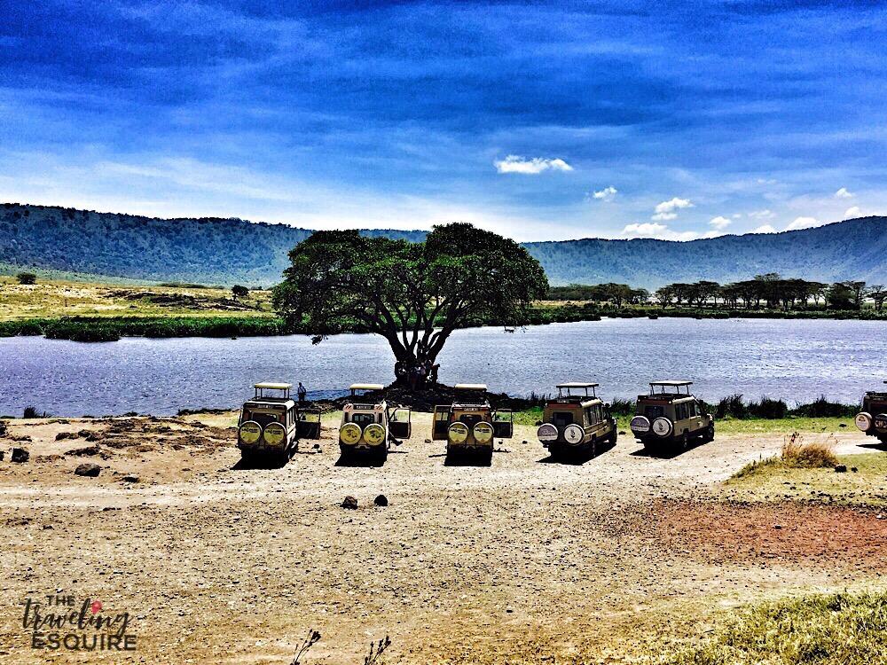 luxury safari in tanzania ngorongoro crater