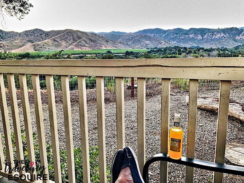 glamping in southern california ventura ranch koa view of canyon