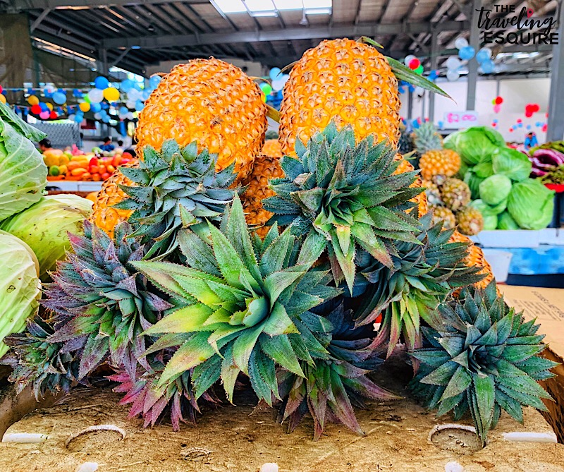 fiji pineapple, fiji fruit, what to eat in fiji, fiji food