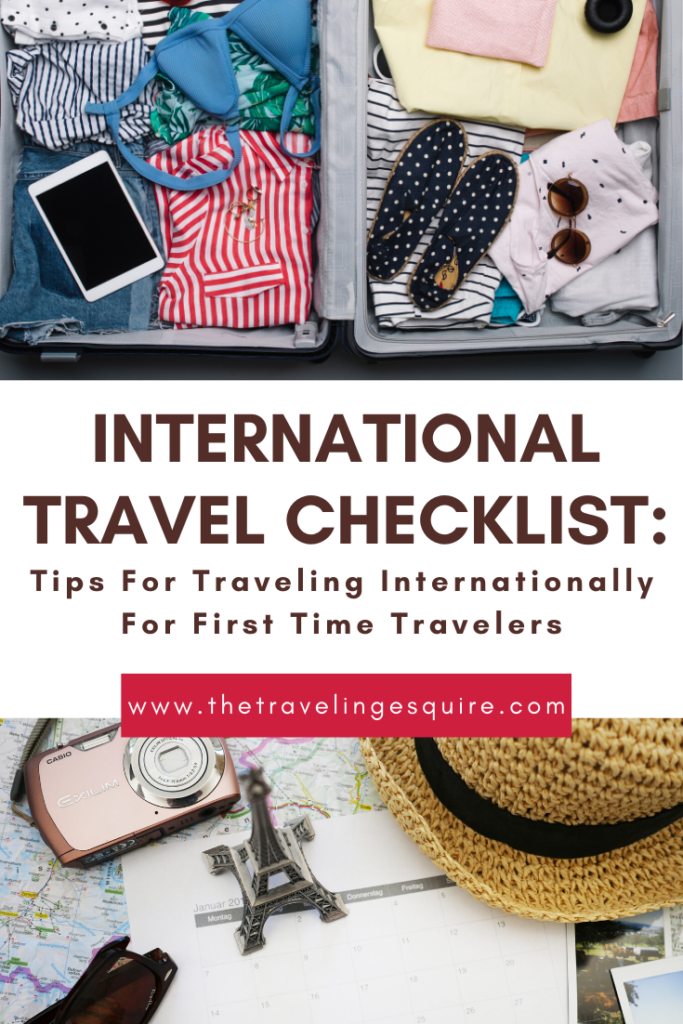 travel tips traveling internationally